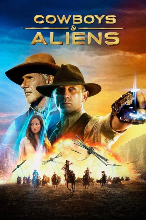 فیلم گاوچران و بیگانگان Cowboys amp Aliens 2011