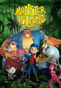 انیمیشن جزیره هیولا Monster Island 2017