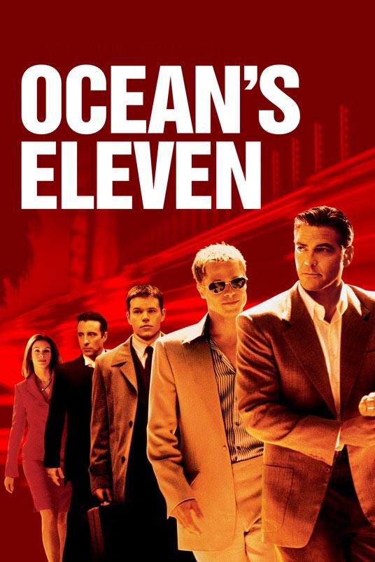 فیلم یازده یار اوشن – Ocean's Eleven 2001 برد پیت