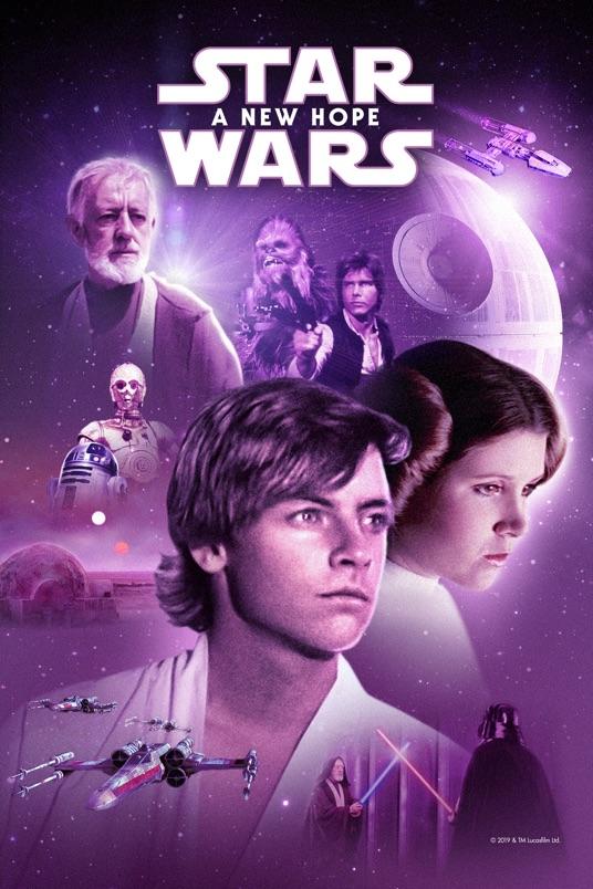 فیلم جنگ ستارگان قسمت چهارم: امیدی تازه – Star Wars: Episode IV – A New Hope 1977